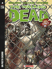 THE WALKING DEAD N.4 - Fumetto Robert Kirkman UN POSTO SICURO