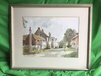 Winchelsea - a tasteful watercolour by Roy Buckeridge