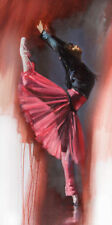 DANCE BALLET ART PRINT - Reaching Out by Ron Di Scenza 19.5x39.5 Dancing Poster