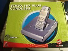 Telefono Cordless Telecom Sirio 187 Plus Vivavoce Rubrica 9 suonerie