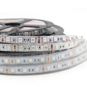 5m LED Stripe 12V 24V RGB RGB+WW RGBW RGBWW SMD5050 Streifen Band Dimmbar Kette