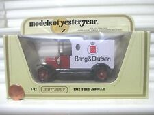Lesney Matchbox 1981 Models of Yesteryear Y12C Bang + Olufsen Model T Ford Van
