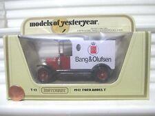 Lesney Matchbox 1981 Models of Yesteryear Y12C Bang + Olufsen Model T Ford Van
