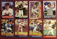 Baseball NBA Sports Trading Cards LOT of 8