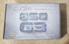 EVGA SuperNOVA 850 G3, 80+ GOLD, 850W Fully Modular  Power Supply, EVGA ECO Mode