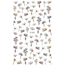 1 Sheet Nail Care Accessory 3D Nail Art Stickers Owl Design Adhesive Decals