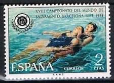 Spanje postfris 1974 MNH 2097 - WK Reddingszwemmen