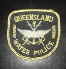QUEENSLAND WATER POLICE Collectable Sew On Patch Badge RARE
