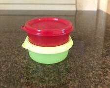 Tupperware Small and Wonder Round Container 70 ML- Set of two - NEW!