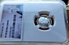 1997-S NGC PF70 ULTRA CAMEO SILVER ROOSEVELT DIME  .10C BRIGHT WHITE & CLEAN