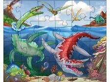 Tiere Dinosaurier Mitgebsel Puzzles Puzzle ver Dinomotive 14 x 14 cm 16 tlg