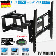 "STAFFA SUPPORT PORTA PARETE Samsung LG Smart 4K 32 40 43 50 55 65 70"" Pollici TV"