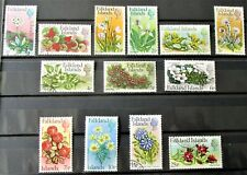 A4 - FALKLAND IS 1972 COMPLETE SET OF 13 SUPERB FINE USED ON STOCK-CARD
