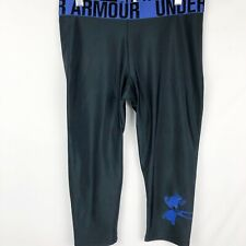 Under Armour Women's capri/crop leggings pants Size S/Small black fitted