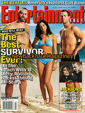 Entertainment Weekly 2/04,Richard Hatch,February 2004,NEW