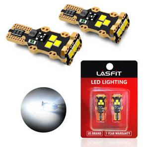 LED Reverse Backup Lights Bulbs 912 921 for Chevy Silverado 1500 2014-2019 White
