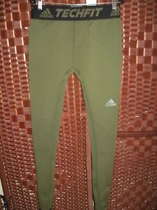 """adidas techfit climaheat Hero thermal compression tights baselayer M mens 28"""" W"""