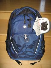 "Brand New Swissgear Piz Buin Blue/Black 16"" Laptop Carrying Case Backpack MSP$55"
