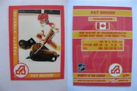 2015 SCA Pat Riggin Atlanta Flames goalie never issued produced #d/10 rare