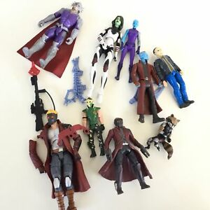 9 x Collection of Figurines - Marvel Guardians of the Galaxy & more #453