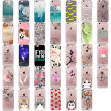 Transparente TPU Gel Silicona Carcasa Funda Case Cover For iPhone SE 5s 6 6s 7 8