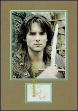Michael Praed Robin Hood Loxley Autograph UACC RD 96