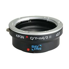 Kipon Adapter Focal Reducer Speedbooster for Contax/Yashica to Micro Four Thirds