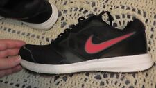 used mens nike shoes size 12 good condition black red '15-16 no box downshifters
