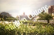 Orig KODACHROME Red Border Photo Slide Havana Cuba City Scape Buildings 1950's