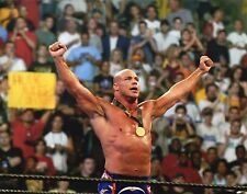 "Kurt Angle WWE WRESTLING 8x10 ""Promo Photo WWF WCW TNA OLYMPIC Hero"