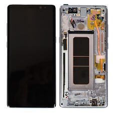 DISPLAY LCD ORIGINALE Samsung N950F Galaxy Note 8 NERO vetrino touch vetro