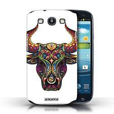 STUFF4 Case/Cover for Samsung Galaxy S3/SIII/Ornamental Animals/Bull