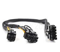10 pins to 6+8 pins Power Adapter Cable for HP DL380 G8 and GPU 500MM