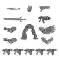 Forgeworld Warhammer 30K 40k Space Marine/Chaos Character Conversion Lord Captai