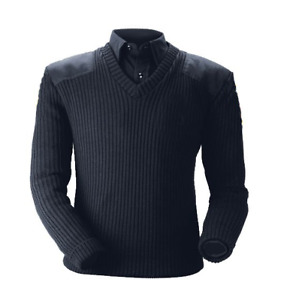 Blauer Classic V-Neck Sweater Police Uniform Style #210