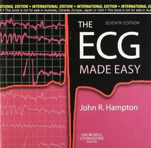 THE ECG MADE EASY by Hampton J. R Book The Cheap Fast Free Post