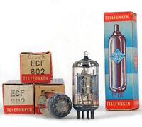 ONE ECF802/6JW8 TELEFUNKEN NOS GERMANY Tube Röhre Lampe TSF Valvola 真空管 진공관 电子管