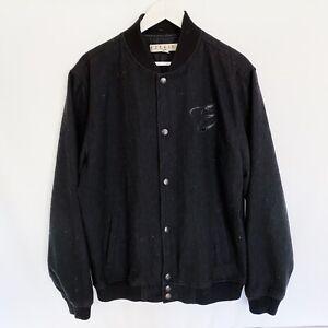 Ezekiel Letterman College Bomber Jacket Mens Large