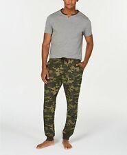 Bar III Men's Pajama Set, Camo, Size M