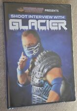 Wrestling DVD GLACIER shoot interview WCW Nitro Pro Wrestling Crate WWE TNA NXT