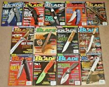 13 Blade Magazines Knives Complete Year 2013 Vol. 40 Issue 1-13 Uncirculated Nos