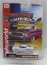 AUTO WORLD 1968 Ford Torino GT HO Scale Slot Car SC329-6 iWHEELS