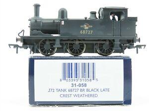 OO Scale Bachmann 31-058 BR British Rail J72 Steam Tank Loco #68727 Weathered