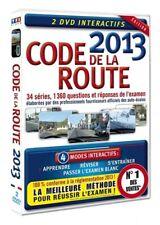 Code de la route 2013 DVD INTERACTIF NEUF SOUS BLISTER