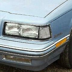 Buick Skylark: 1989, 1990, 1991, Left Side Marker Signal Light Lens