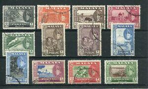 MALAYA PAHANG 1957-62 TO $5 SG75/86 USED