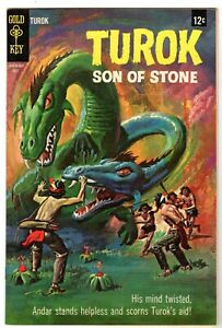 Turok Son of Stone #62 - .12 Cent Variation, Near Mint Minus Condition