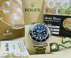 ROLEX - SS DEEPSEA Sea Dweller James Cameron Blue Dial 116660 - SANT BLANC