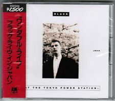Sealed! BLACK Live EP-At The Tokyo Power Station JAPAN PROMO CD w/OBI D15Y-3249