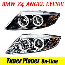 NEW FARI ANTERIORI BMW Z4 E85 Cabrio + E86 Coupè ANGEL EYES LED Tuning! Sonar!